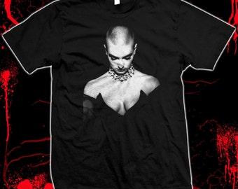 Sinead O'Connor - Pre-shrunk, hand-screened, 100% cotton t-shirt
