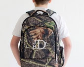 Personalized Backpack for Boys, Camo Backpack, personalized kids backpacks, monogram bookbag, Camo Diaper Bag
