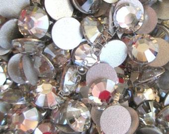 50 pcs Swarovski Crystal Flatbacks Silver Shade 20ss (4.6 - 4.8mm) SS20 2028 Xilion