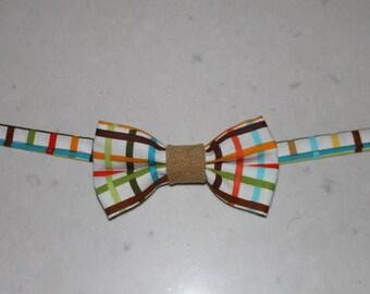 Boys plaid bowtie, plaid bow tie,