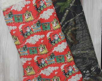 Giant Christmas Stocking, Custom Made to Fit Your Needs