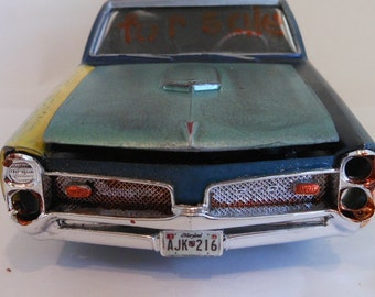 Scale Model GTO Car Classicwrecks Rusted Car