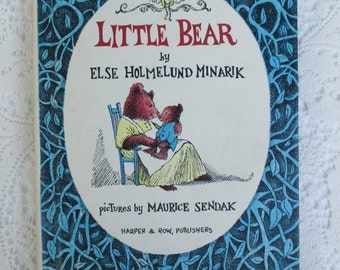SUMMER SALE 30% Off Vintage Little Bear An I Can Read Book, Collectible Children's Book