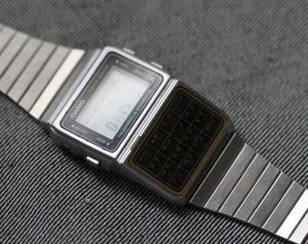 Vintage Casio digital calculator watch DBC-610 all functions working