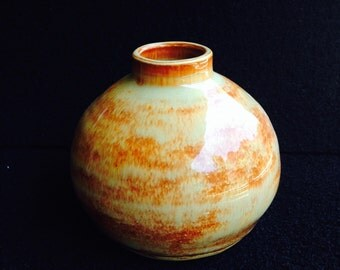 Stout Two-Color Vase