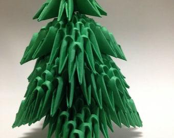 3D Origami Mini Christmas tree  Kit