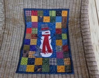 Little Snowman, Little Quilt, Applique Quilt 1130-04