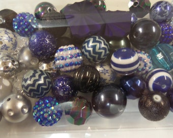 Destash, 18mm plus Beads, Paired, 50 beads or more, 50U