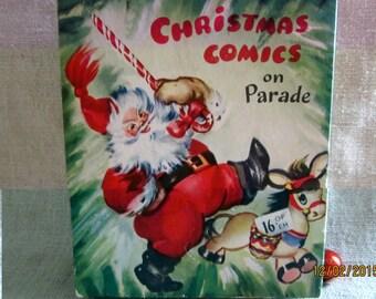 Vintage - 1940's - Advertising - Neat Christmas Card Box