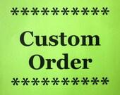 CUSTOM ORDER -- Pastel Jade Starfish & Scallop 3x3 Tiles