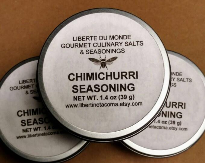 Chimichurri Seasoning Blend in 4 oz Tin