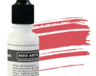 Hero Arts Strawberry reinker NK334, ink, stamping, papercrafting, mixed media, scrapbook, a2z scrapbooking