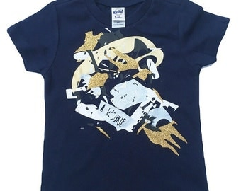 SALE 2t The Picasso Shirt |Navy | unique | one of a kind | kids style | Kids Shirt | Toddler shirts | Eclectic