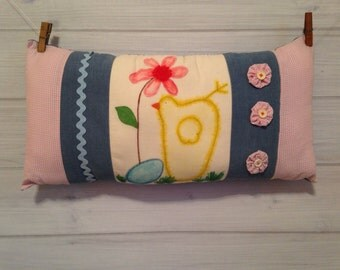Home Decor Pillow Vintage Decor Childrens Pillow Shabby Chic Decor Boho Decor