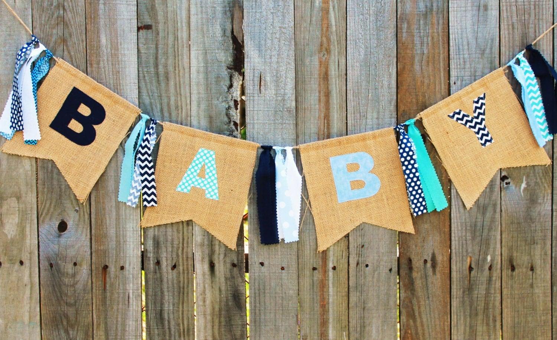 baby shower banner burlap baby banner custom baby banner for