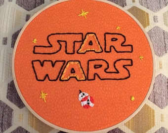 "embroidery - ""star wars."""