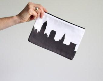 Cleveland City Clutch Purse - 6x9 - Skyline Silhouette