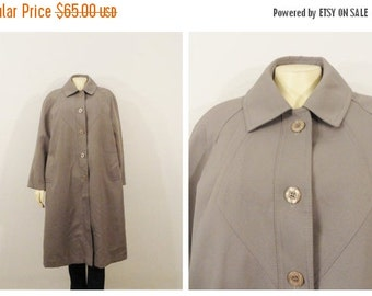 Vintage Coat Cape 60s 70s Mad Men Army By 2sweet4wordsvintage