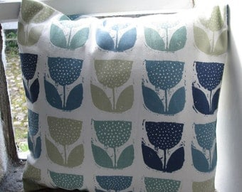 """Blue Poppies Cover  40cm (16"""")"""