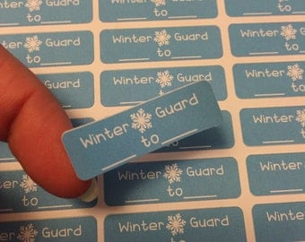 Winter Guard planner stickers