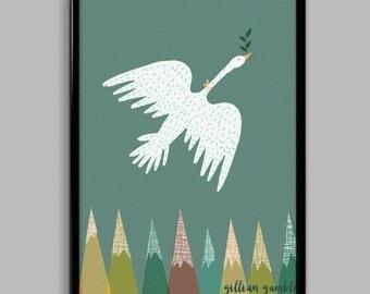 Migration Poster (30cm x 40cm)