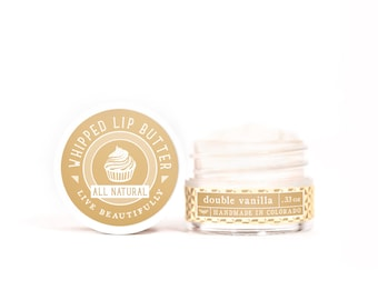 Double Vanilla - Whipped Lip Butter - Natural Icing for Your Lips