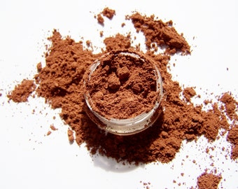 Mineral Makeup - Auburn Brows - Brow Color Powder - Vegan Makeup -  Brow Filler -  Mineral Makeup Brow Color