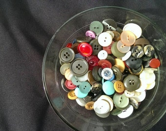 Vintage Buttons - Assorted Lucky Dip