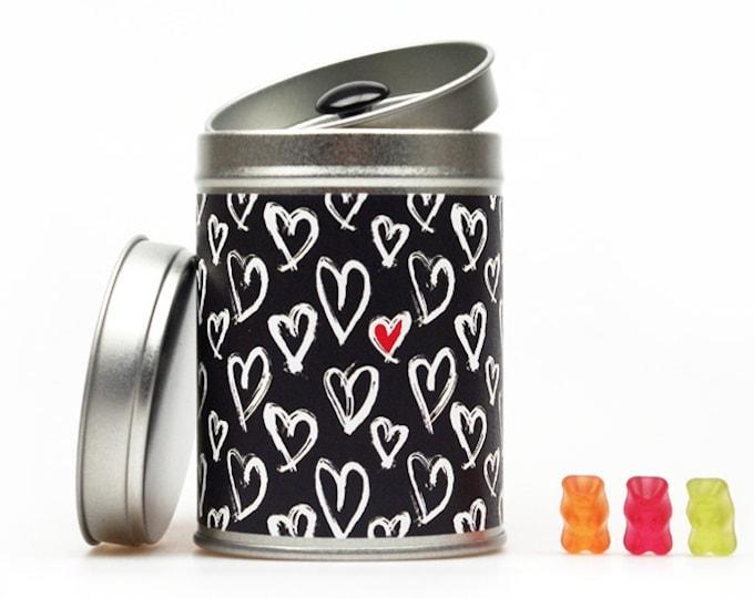 HEARTS Hochzeitsdose Geschenkdose Geldgeschenk