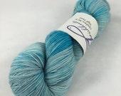 Sea Glass: Superwash Opulence MCN Hand Painted Sock Yarn, 150 grams!