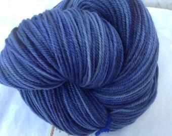 "Anishinaabe - Hearthside Fibers ""Extravagance"" - Polwarth/silk DK - Hand Dyed"