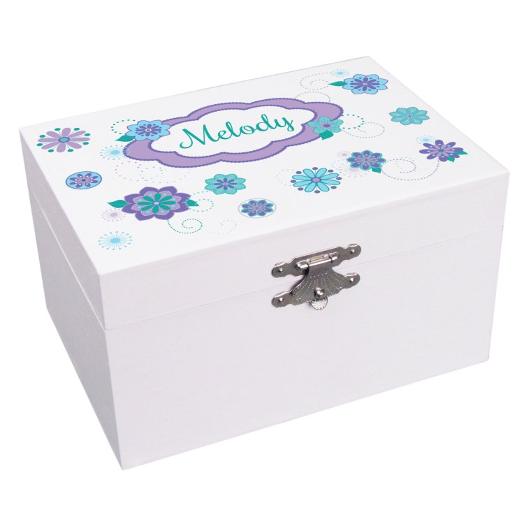 personalized musical ballerina jewelry box for by