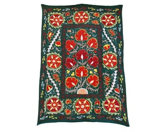 Silk Handmade Modern Suzani ES115