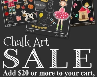 Items Similar To PIRATE Chalkboard Clipart Digital Stamp Chalk Graphic