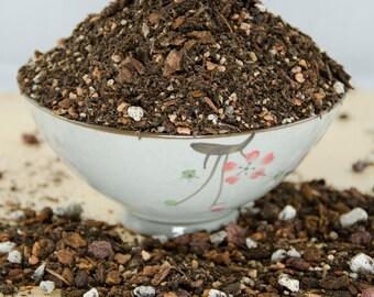 Free Shipping 6 Quarts Super Blend Premium Bonsai tree Soil - With Mycorrhizae, Lava & Sand