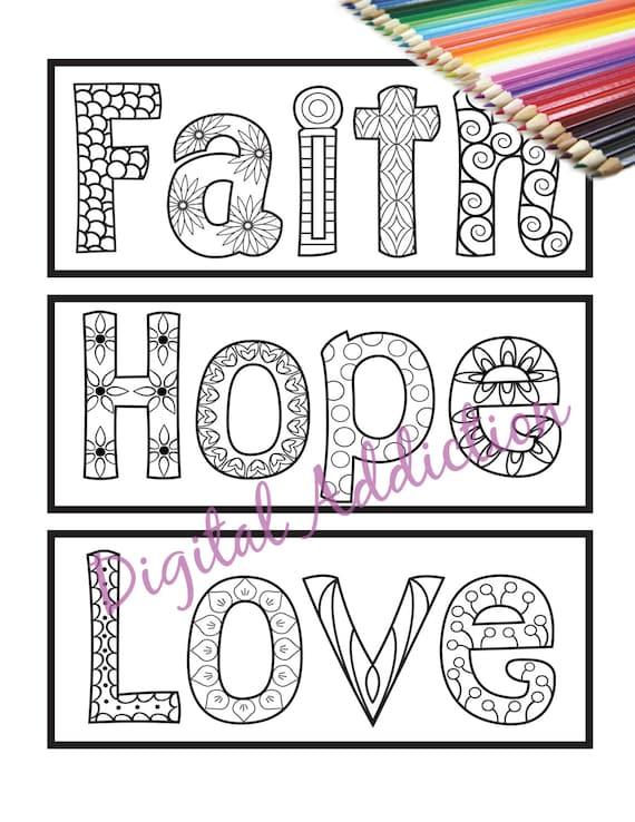 Faith+Love+Hope :Line Art: by PulseDragon on deviantART   Line art ...   738x570