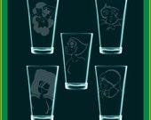 PICK2 - Get a pair of Steven Universe etched glasses - SU Fanart