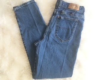 "Vintage High Waisted Riders Mom Jeans 8M 28"" 29""/High Waisted Jeans/80s Jeans/90s Jeans"