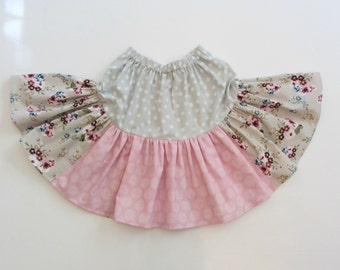 Boutique All Seasons Floral Twirl Skirt sizes 4 5, 5 6, 6 7 Matilda Jane Style