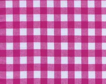 Cotton + Steel - Checkers - Yarn Dyed Woven - Gingham Berry - Small