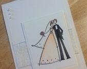 Card - Wedding - Bride & Groom