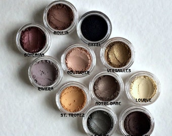 Au Naturel Neutral Eyeshadow Pigments (New & Improved Formulas 2016)