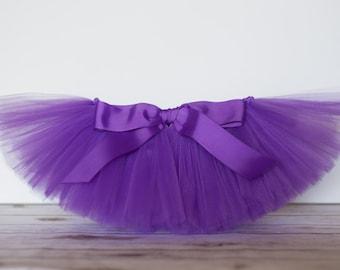 Purple tutu 'Violet' purple tutu girls purple children's tutu purple photo prop, purple birthday outfit size 5,6,7,8,10,12, dress up skirt