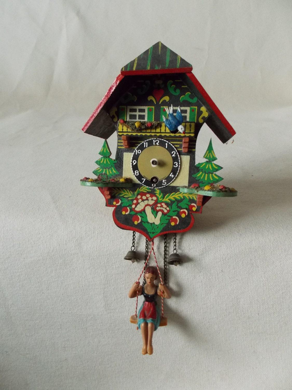 Vintage german coo coo clock - Coo coo clock pendulum ...
