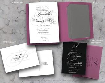 GRACE Invitation Suite Printables