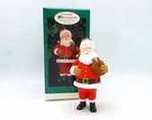 "1996 Hallmark Keepsake Collector's Club Ornament -""Santa"""