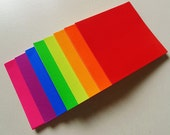 Bright Colors Rainbow Origami Square Paper Pack for Origami Paper Project - 120 sheets