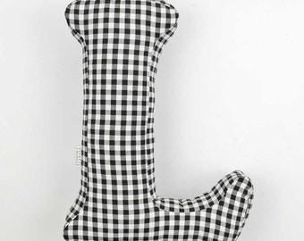 stylish decor, letter pillow