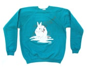 Sale - Rabbit Sweater Sz L