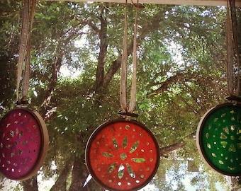 Batik Fabric Garland Decoration